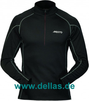 MUSTO Performance THERMAL Top, Zip-Neck