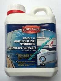"""Owatrol Marine Strip """"DILUNETT"""" Altanstrichentferner 1 Liter"""