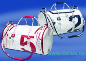 Segelstofftasche Sea Mate, Segeltasche rund