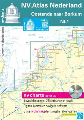 Sportbootkartensatz NV.Atlas Nederland NL1