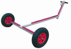 OPTIPARTS Slipwagen, große Räder, Luftbereifung