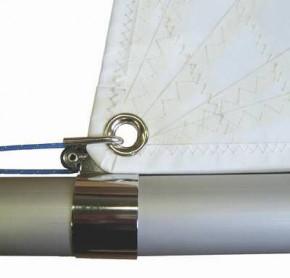 Clew Sleeve OPTIPARTS mit 16 mm Harken Airblock