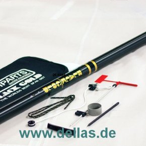 OPTIPARTS BLACKGOLD-Mast mit Rigging Pack