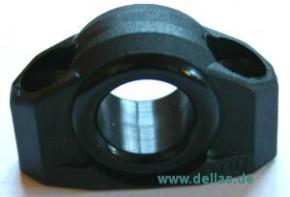 Leitöse Schwarz Nylon mit Nylon-Verstärkung