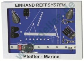 EINHAND - REFFSYSTEM  ZUR  SELBSTMONTAGE für Schiffe bis 30 Fuß