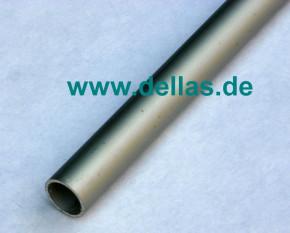 Alurohr 25 x 2,0 mm silber 1,20 m lang