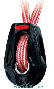 Orbit Block Serie 20 1,7mm Dyneema Befestigung, kugelgelagert