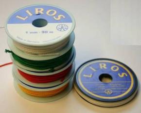 Mini-Spulen Liros Flechtleine Polyester, 2 mm Ø