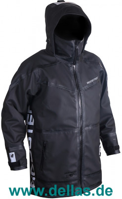 Rooster PRO AQUAFLEECE RIGGING COAT Black