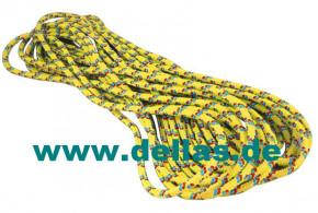ROOSTER Schot, 6 mm ø , 14 Meter lang, Farbe Gelb