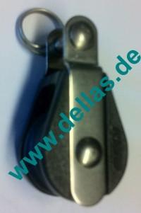 19 mm NOVA Gleitlagerblock, einfach mit Gabelkopf