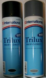 TRILUX PROP-O-DREV Propeller Antifouling Spray grau oder schwarz 500 ml