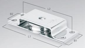 Liegeblock für max. 4 mm Draht, Gleitlager