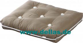 Sitzkissen Kapok Kissen einfach, Premium Qualität Beige