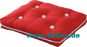 Sitzkissen Kapok Kissen einfach, versch. Farben - Premium Qualität