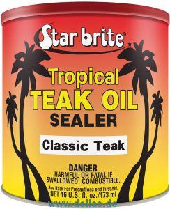 Tropischer Teakholz Versiegeler Starbrite Dunkel - Classic