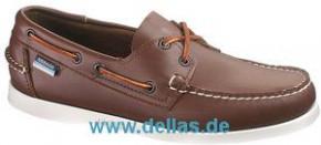 Herren-Bootsschuhe SEBAGO DOCKSIDES, Tan, Größe 45