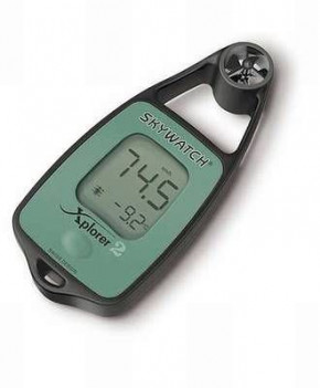Skywatch Xplorer 2 - Windmesser + Temperatur